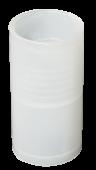 Муфта для гофрированных труб прозрачная GFLEX25 IEK, Повороты, соединители, муфты