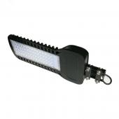 Светильник уличный светодиодный 50Вт 6000Лм 5000K черный IP65 QPlus Gauss, Консольные светильники