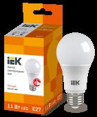 Лампа светодиодная LED-A60 ECO 11Вт 230В 3000К E27 IEK, Лампы LED-A