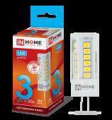 ЛампасветодиоднаяLED-JC-VC 3Вт12ВG4 4000К260ЛмIN HOME, Лампы LED-JC