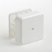 Коробка распределительная для кабель-канала 80х80х25 мм, Коробки распределительные