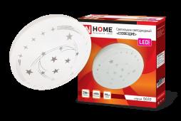 Светильник светодиодный серии DECO 24Вт 230В 6500К 1560лм 300х55мм СОЗВЕЗДИЕ IN HOME, Потолочные светильники