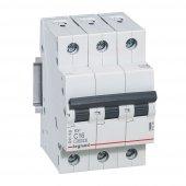 Автоматический выключатель Legrand TX3/RX3 3P 50А характеристика С, Автоматические выключатели модульные