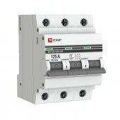 Выключатель нагрузки ВН-125 3P 125А EKF PROxima, Выключатели нагрузки