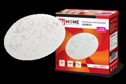 Светильник светодиодныйд серии DECO 12Вт 230В 6500К 780лм 190х65мм БАМБУК IN HOME, Потолочные светильники