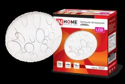 Светильник светодиодный серии DECO 12Вт 230В 6500К 780лм 190х65мм ОРИОН IN HOME, Потолочные светильники