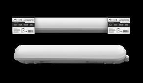 Светильник светодиодный герметичный ССП-159М-1865-600 18Вт 230В 6500К 1350Лм 600мм матовый IP65 NEOX, Промышленные светильники