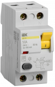 Устройство защитного отключения ВД1-63 2Р 50А 100мА IEK, Устройства защитного отключения