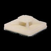 Площадка самоклеящаяся ПС-20 20х20 под хомуты (100штук/упаковка) IN HOME, Хомуты нейлоновые