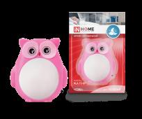 Ночник светодиодный NLA 13-OP СОВА розовая с выкл 230В IN HOME, Ночники светодиодные