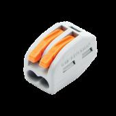 Строительно-монтажная клемма СМК 222-412 (4штук/упаковка) IN HOME, Соединительные изолирующие зажимы