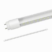 Лампа светодиодная LED-T8-П-PRO 20Вт 230В G13 4000К 1620Лм 1200мм прозрачная IN HOME, Лампы LED-T8