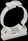 Хомутный держатель для труб 25 мм IEK, Крепления для труб