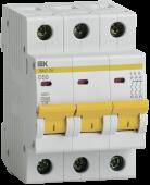 Автоматический выключатель ВА47-29 3P 50А 4,5кА характеристика D IEK, Автоматические выключатели модульные