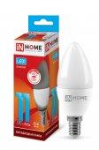 Лампа светодиодная LED-СВЕЧА-VC 11Вт 230В Е14 4000К 990Лм IN HOME, Лампа LED-СВЕЧА