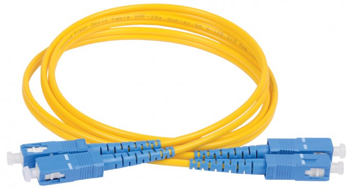 ITK Оптический шнур (патч-корд), SM, 9/125 (OS2), SC/UPC-SC/UPC,(Duplex),2м, кабель витая пара