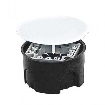 Коробка расп. для подштукатурного монтажа с клеммником и крышкой (74х42) EKF PROxima, Коробки распределительные