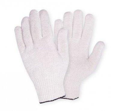 Перчатки х/б белые «ЛАЙТ» (10кл 3 нити)