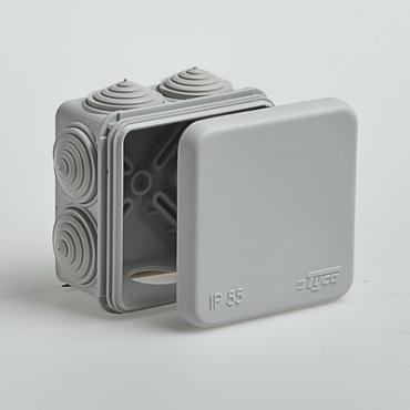 Коробка распределительная для открытой установки 70х70х40 мм, Коробки распределительные