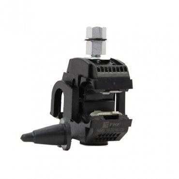 Зажим прокалывающий ответвительный N640 16-120 мм2 / 16-35 мм2 (голый провод / СИП) EKF PROxima, Арматура к проводу СИП