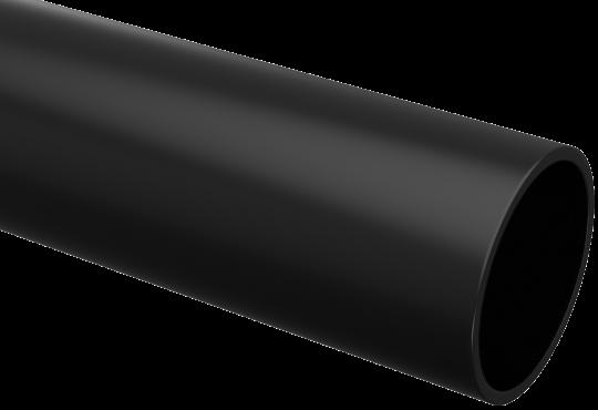 Труба ПНД жесткая 16 IEK черная, Труба жесткая ПВХ и ПНД