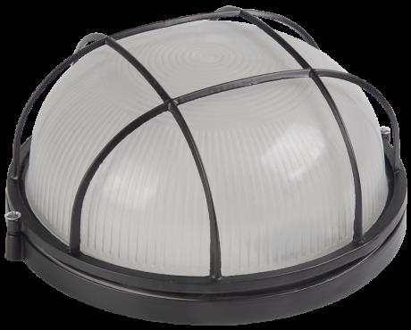 Светильник НПП 1102 белый круг с решеткой 100Вт IP54 IEK