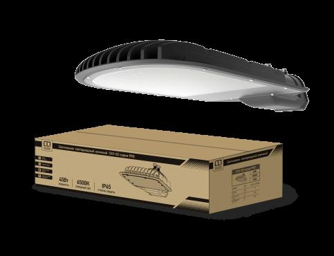 Светильник уличный светодиодный СКУ-02 серии PRO 45Вт 230В 6500К IP65 LLT