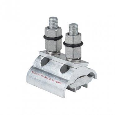 Зажим ответвительный плашечный SL37.27 10-95 мм2 / 10-95 мм2 EKF PROxima, Арматура к проводу СИП