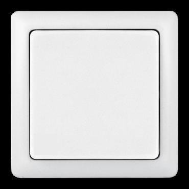 Выключатель одноклавишный ХИТ Schneider Electric накладной белый, Выключатели накладные