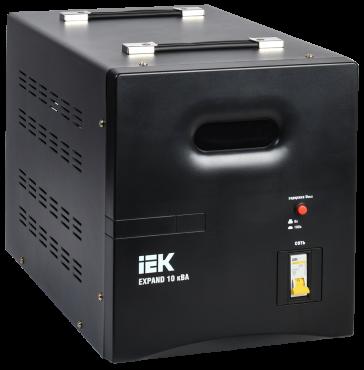 Стабилизатор напр. 1-ф. переносн. 10кВА EXPAND IEK, Стабилизаторы однофазные