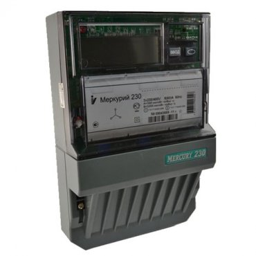 Счетчик Меркурий 230ART-02 RN 10-100A 1,0/2,0 380B трехфазный многотарифный RS485
