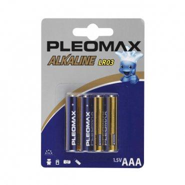 Батарейки ААА Pleomax LR03-4BL (4шт)