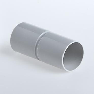 Патрубок-муфта 50 мм для труб ПВХ IP40 серый, Повороты, соединители, муфты