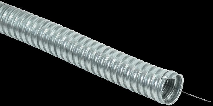 Металлорукав РЗ-ЦХ-50 с протяжкой (15 м) IEK, Металлорукав Р3-ЦХ