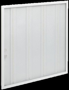 Светильник светодиодный ДВО 6561-P 36Вт 4000К 595х595х20 призма IEK, Светодиодные панели