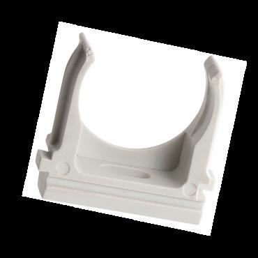 Крепеж-клипса d20мм (100шт.) Plast EKF PROxima, Крепления для труб