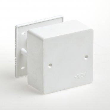 Коробка распределительная для кабель-канала 85х85х42, Коробки распределительные
