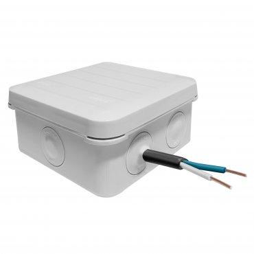Коробка распределительная для открытой установки 85х85х45 мм IP55, Коробки распределительные