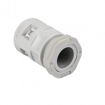 Коннектор для гофрированной трубы (16мм.) (50шт.) Plast EKFPROxima, Повороты, соединители, муфты
