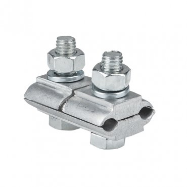 Зажим соединительный плашечный 2 болта М6 (D провода 5,1...9,0 мм) ПА-1-1 EKF PROxima, Арматура к проводу СИП