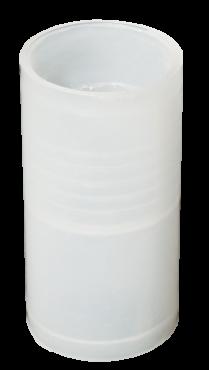 Муфта IEK для гофрированных труб прозрачная GFLEX25, Повороты, соединители, муфты