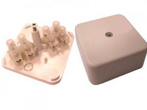 Коробка распределительная с контактной группой 50х50 мм, Коробки распределительные