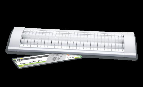 Светильник под светодиодную лампу SPO-406 2х10Вт 230В LED-Т8 G13 IP20 600 мм LLT
