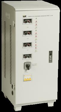 Стабилизатор напряжения СНИ3-7,5 кВА трехфазный IEK, Стабилизаторы однофазные