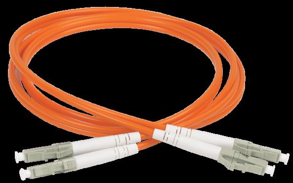 ITK Оптический шнур (патч-корд), MM, 50/125 (OM2), LC/UPC-LC/UPC,(Duplex),1м, кабель витая пара