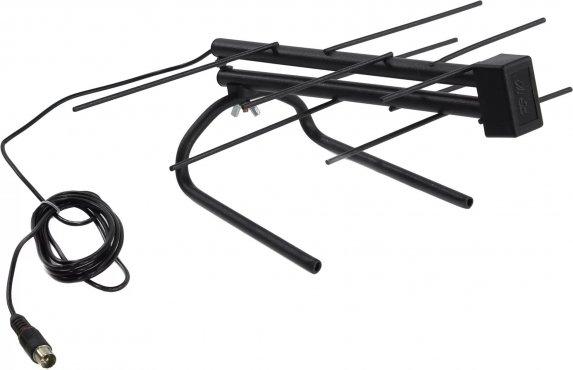 ТВ антенна комнатная для цифрового телевидения DVB-T2 (модель RX-252) REXANT, Штекеры телефонные и телевизионные