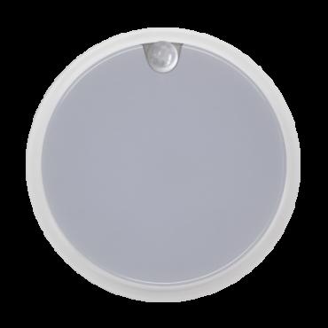Светильник светодиодный герметичный СПП-Д 2303 12Вт 230В 4000К 960Лм с датчиком движения круг IP65 LLT