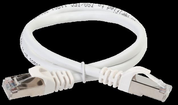 ITK Коммутационный шнур (патч-корд), кат.5Е FTP, 5м, серый, коммутационный шнур