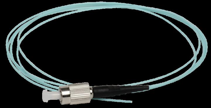 ITK Оптический шнур (патч-корд), пигтеил, (MM), 50/125 (OM3), FC/UPC, LSZH, 1,5м, кабель витая пара