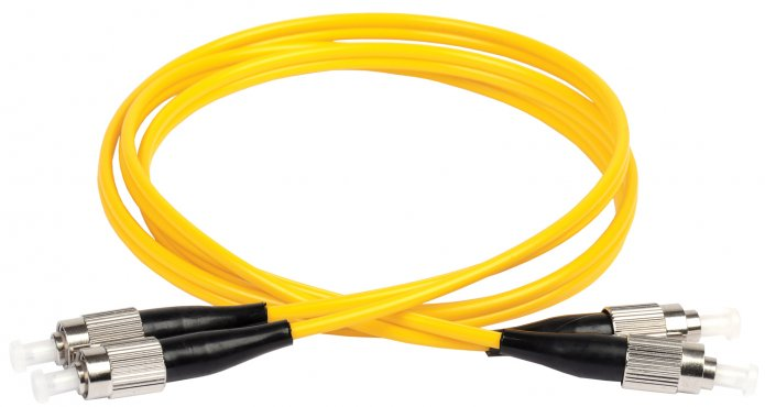 ITK Оптический шнур (патч-корд), SM, 9/125 (OS2), FC/UPC-FC/UPC,(Duplex),2м, кабель витая пара